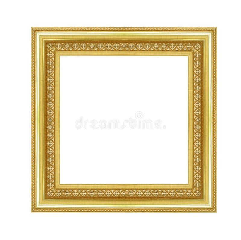 Cadre de tableau d'isolement sur le fond blanc photos libres de droits