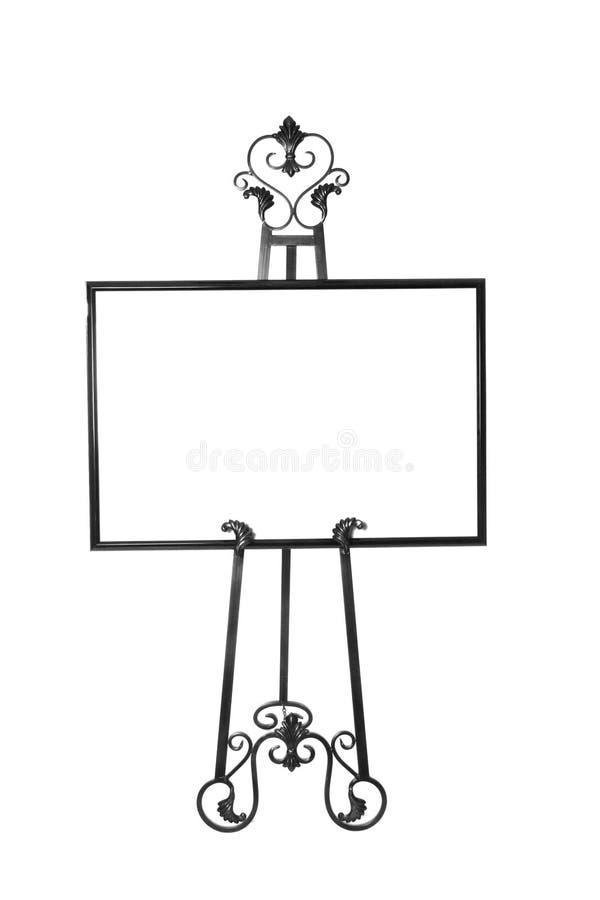 Cadre de tableau d'isolement sur le support illustration libre de droits