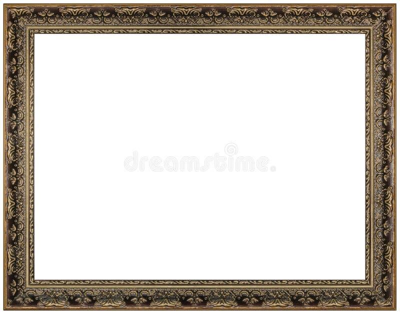 Cadre de tableau de vintage, fond blanc photos stock