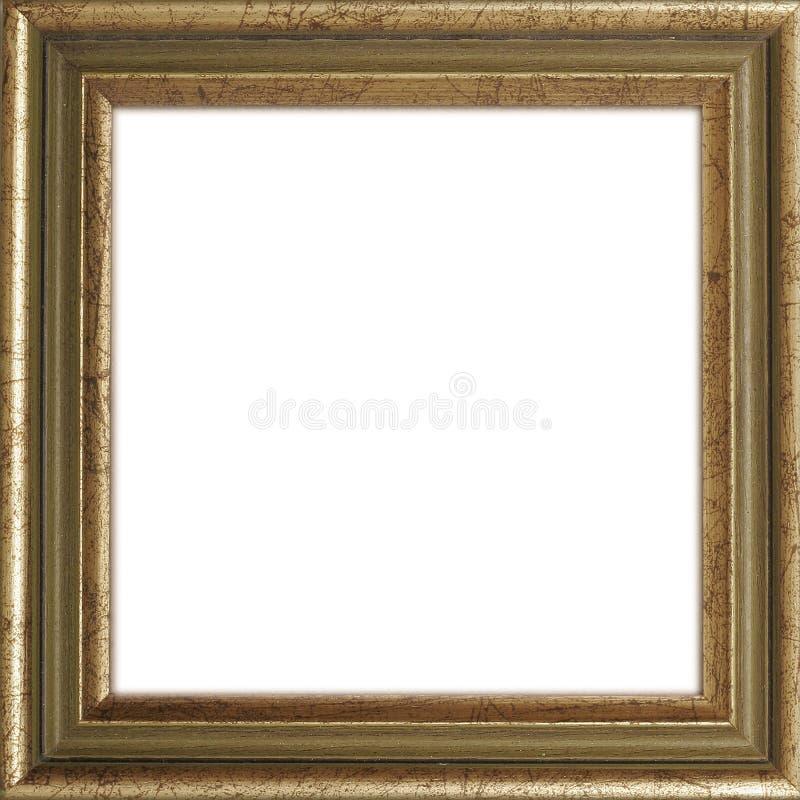 Cadre de tableau doré photo libre de droits