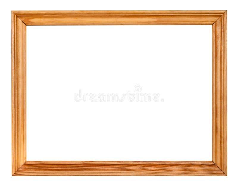 Cadre de tableau en bois étroit simple de vintage images libres de droits