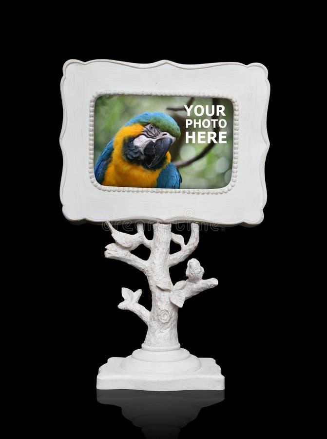 Cadre de tableau (la photo d'oiseau dans la vue est la mienne) photos libres de droits