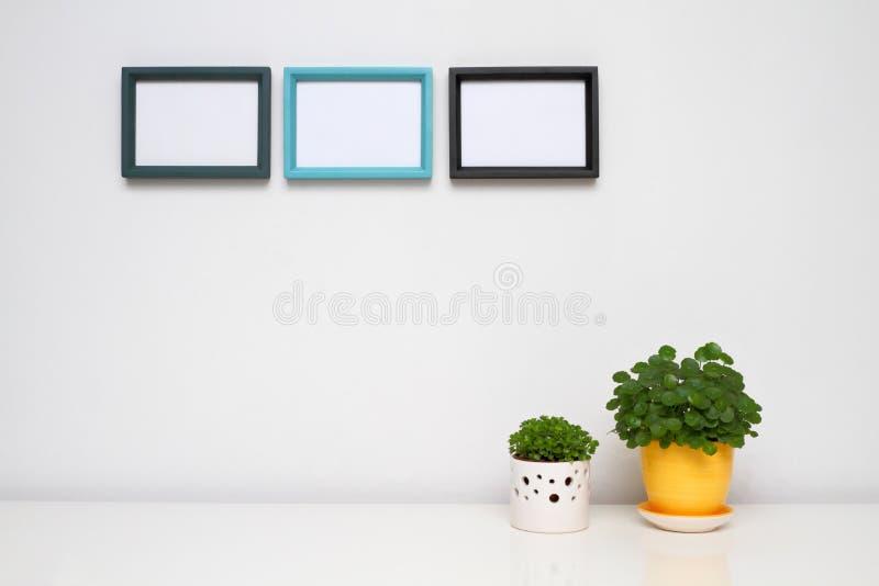 Cadre de tableau pour la décoration à la maison. photos stock