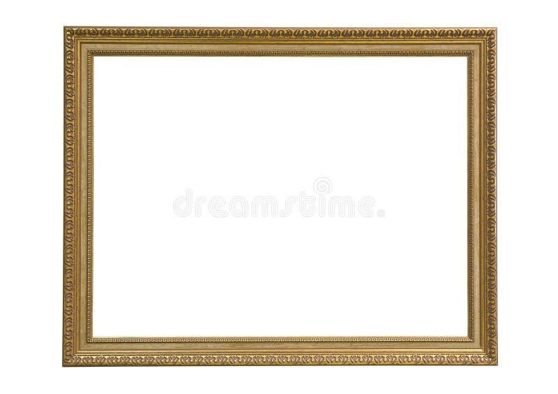 Cadre de tableau rectangulaire vide photographie stock