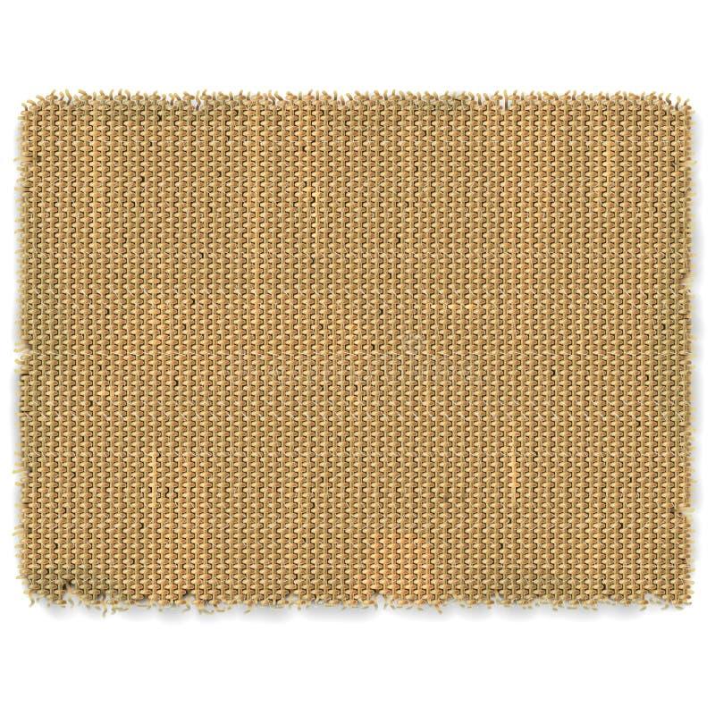Cadre de toile à sac de vecteur illustration stock