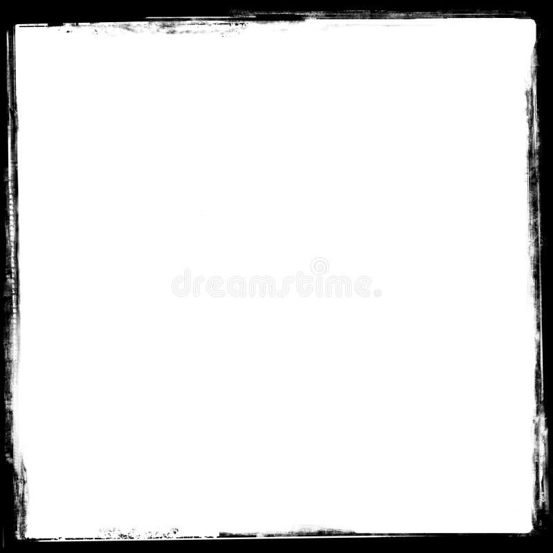 Cadre de trame de cru (2) illustration de vecteur