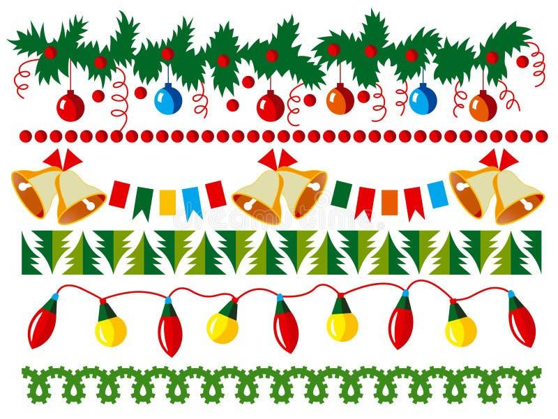 Cadre de vecteur de Noël illustration stock