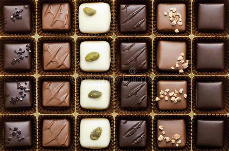 Cadre du chocolat le plus fin images stock