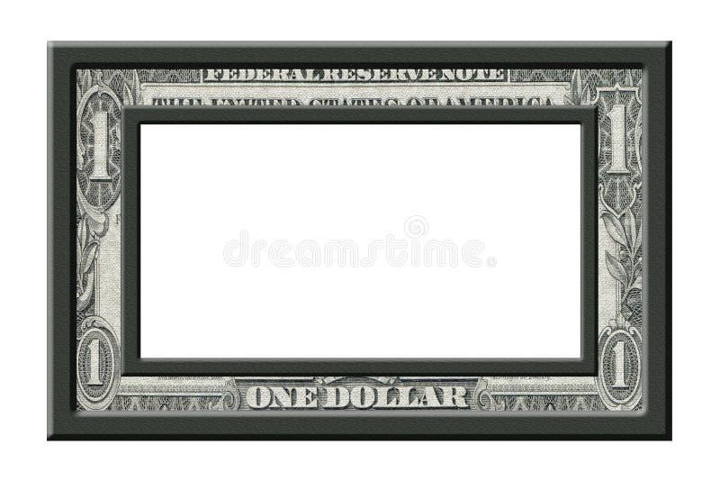 Cadre du dollar image stock