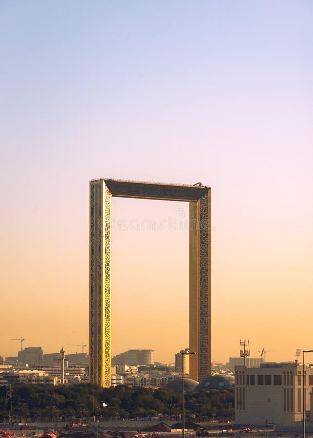 Cadre EAU de Dubaï photo stock