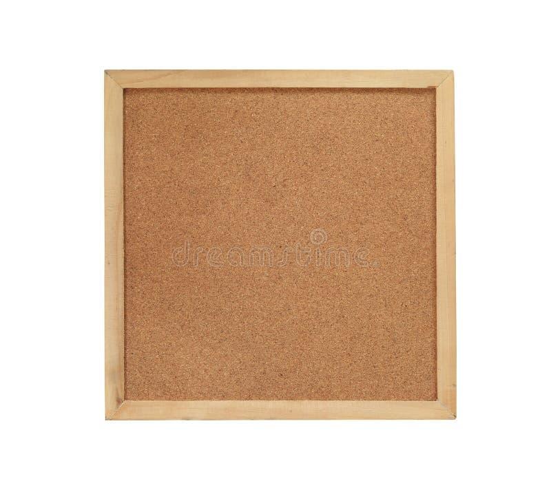Cadre en bois de Brown sur le plancher en bois images libres de droits