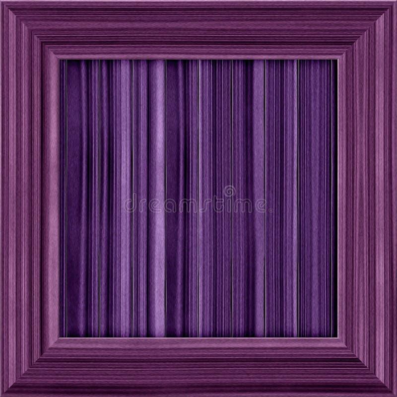 Cadre en bois de fond photo stock