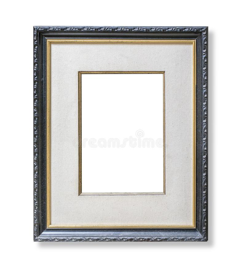 Cadre en bois de photo de m?tier photo stock