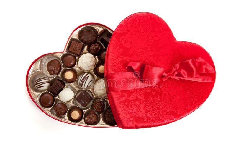 Cadre en forme de coeur avec la sucrerie photographie stock libre de droits