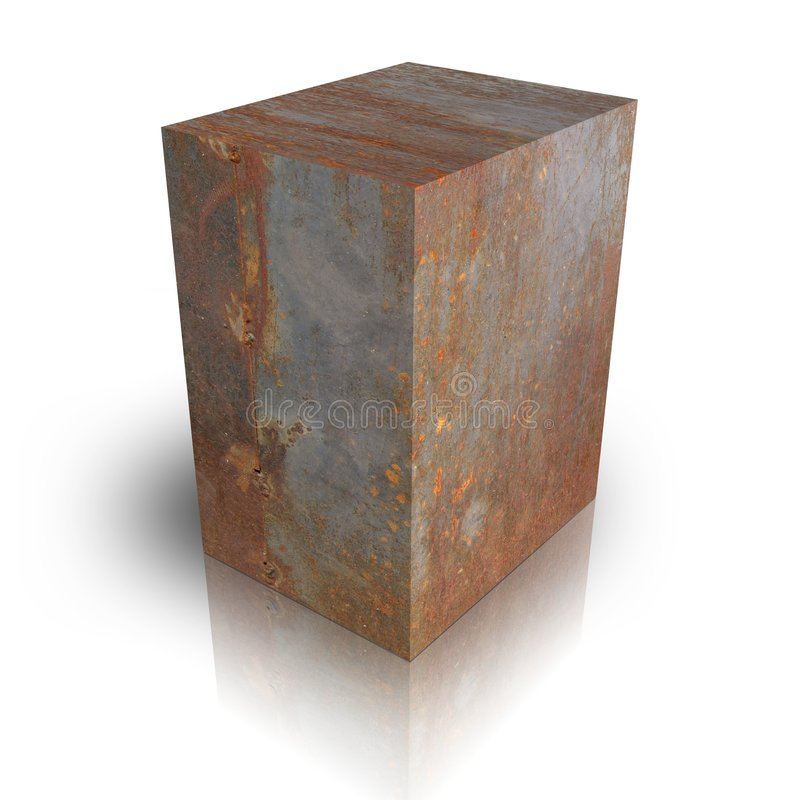 Cadre en métal illustration de vecteur