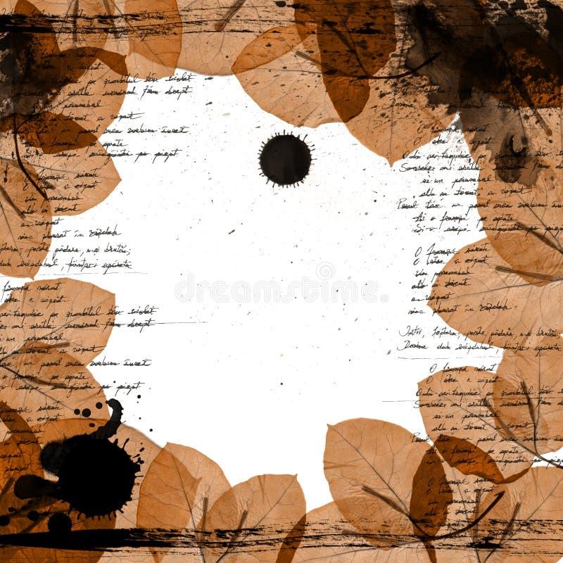 Cadre floral illustration libre de droits