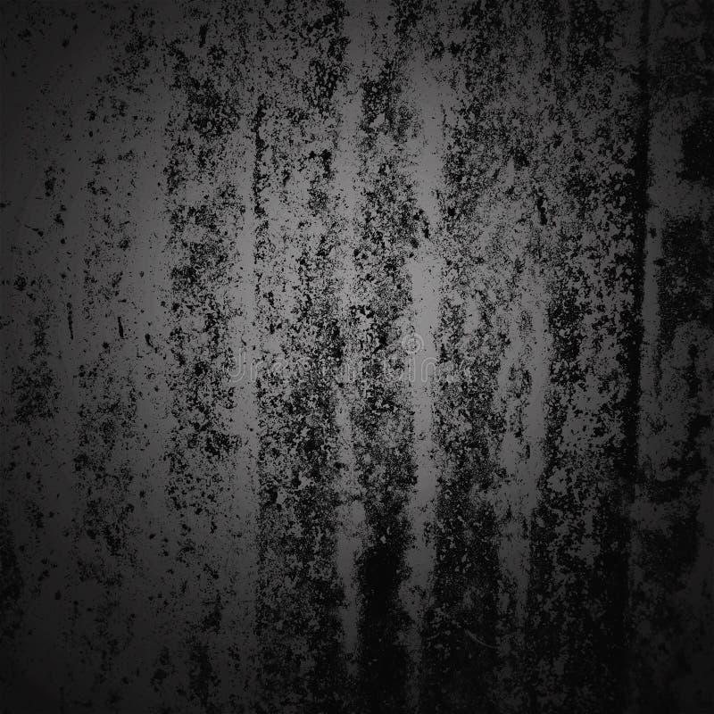 Cadre foncé de frontière de vignette de fond de résumé avec le fond gris de texture Style grunge de fond de cru photos stock