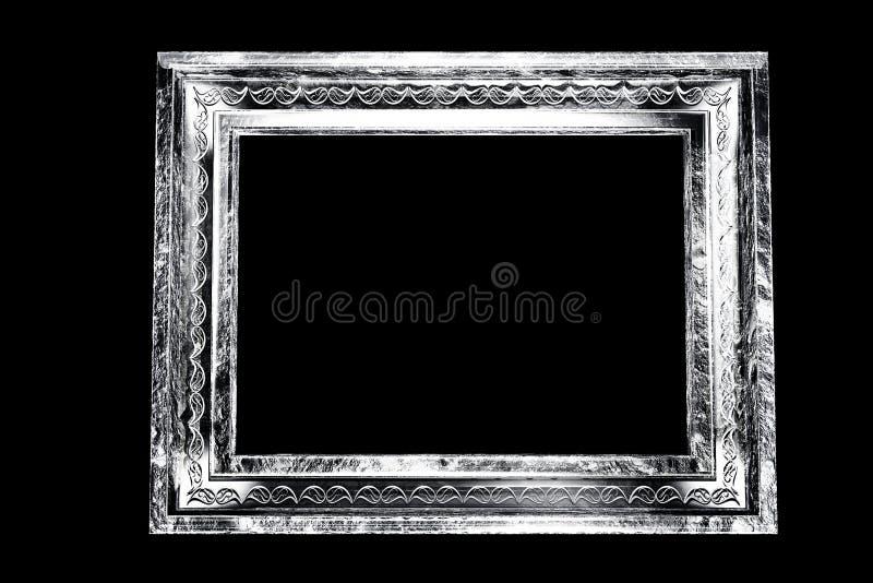 Cadre grunge âgé par monochrome illustration libre de droits