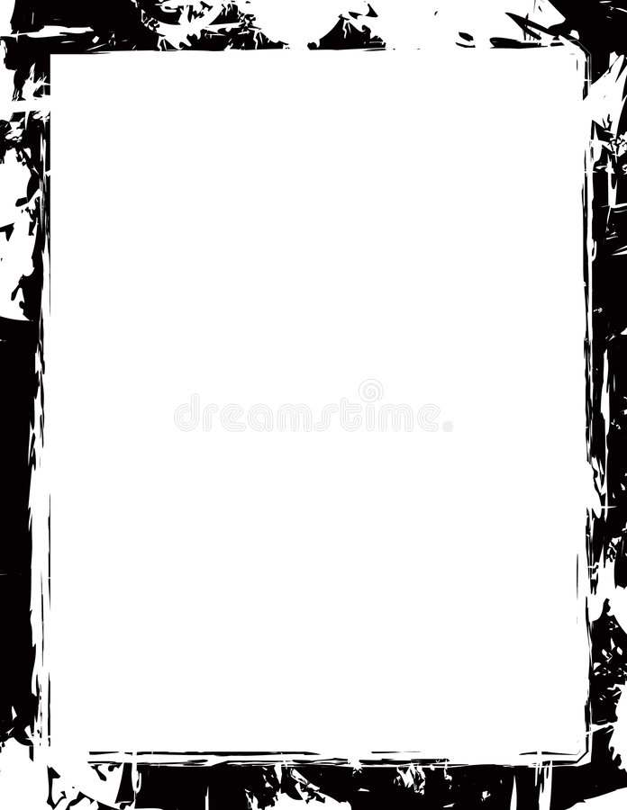 Cadre grunge illustration stock