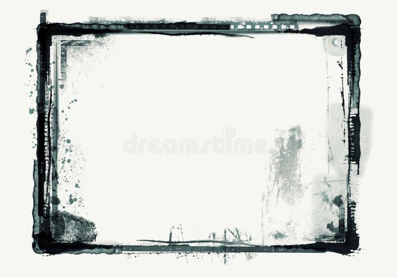 Cadre grunge illustration de vecteur