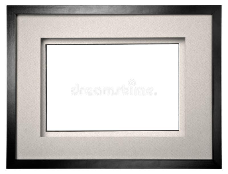 Cadre noir de photo photographie stock libre de droits