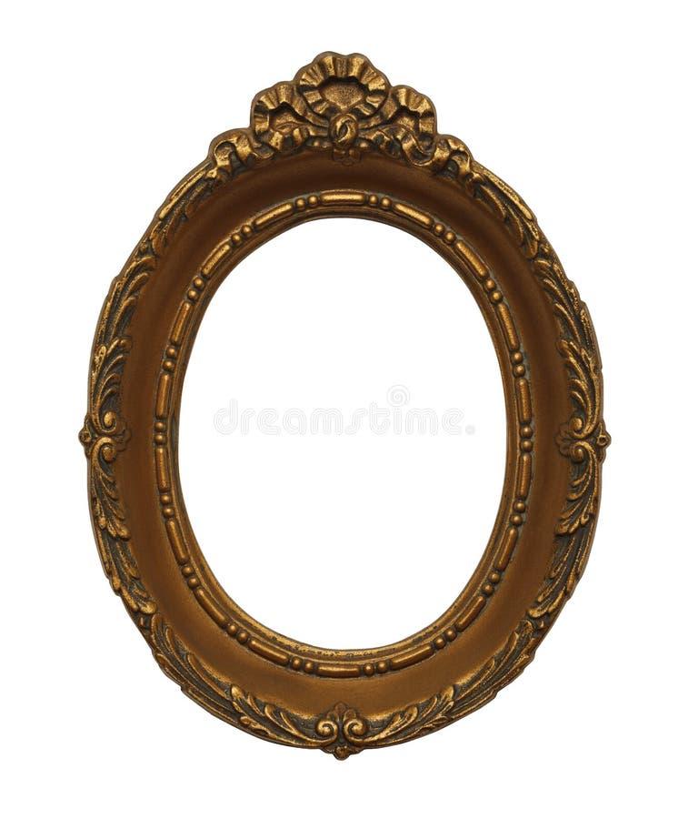 Cadre ovale photo libre de droits