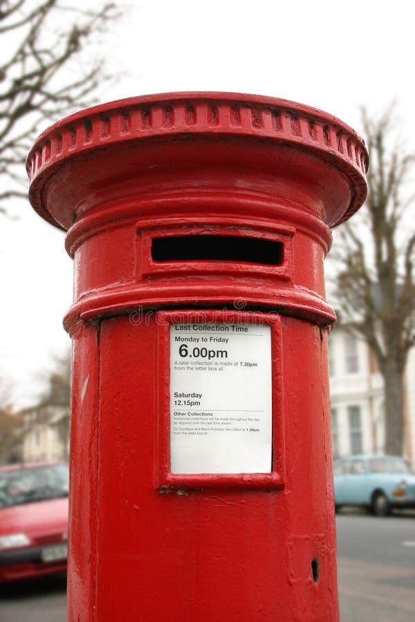 Cadre postal britannique images stock