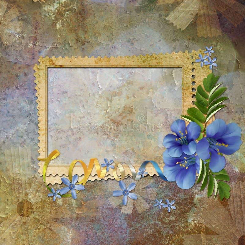 Cadre pour l'invitation ou la félicitation. photos libres de droits
