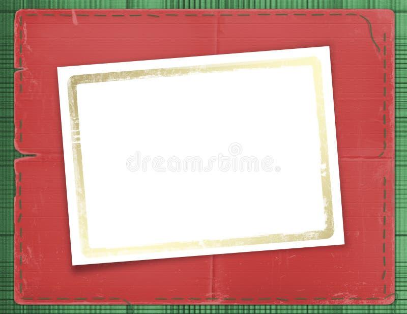 Cadre pour une photo ou des invitations illustration de vecteur