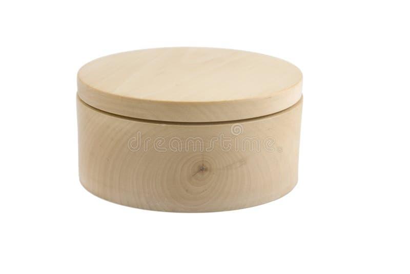 Cadre rond en bois images stock