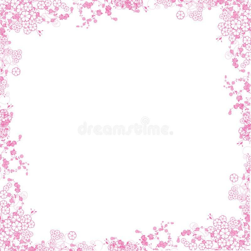 cadre rose illustration stock illustration du rose whimsy 6154131. Black Bedroom Furniture Sets. Home Design Ideas