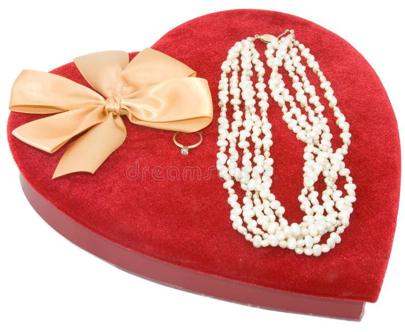Cadre rouge de coeur de velours images stock