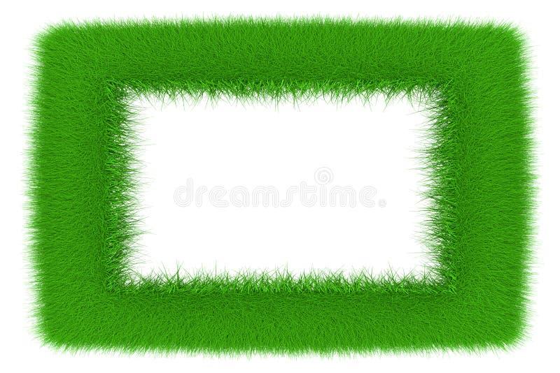 Cadre vert illustration de vecteur