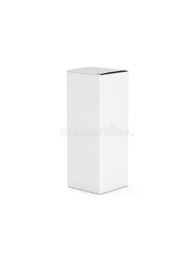 Cadre vertical blanc blanc pour des conceptions illustration de vecteur