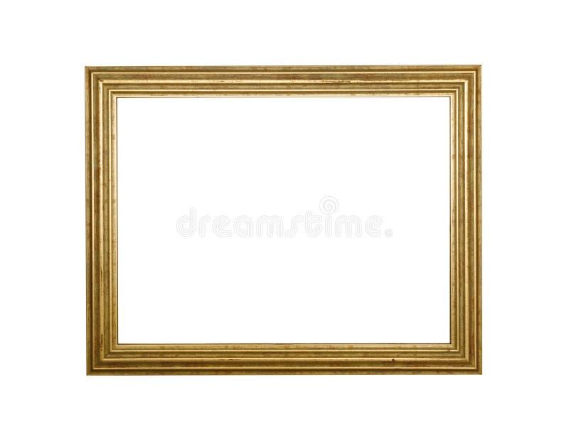 Cadre vide antique de photo plaquette Frontière d'affiche image stock