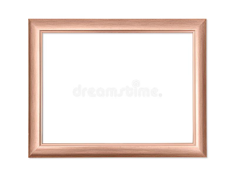Cadre vide d'image ou de photo d'isolement avec le chemin de coupure photographie stock