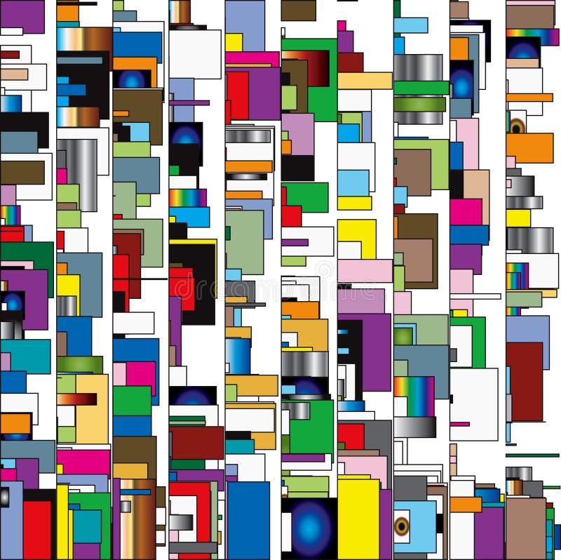 Cadres abstraits illustration libre de droits