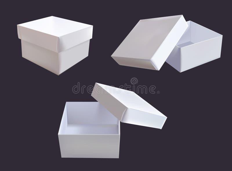 Cadres blancs illustration libre de droits