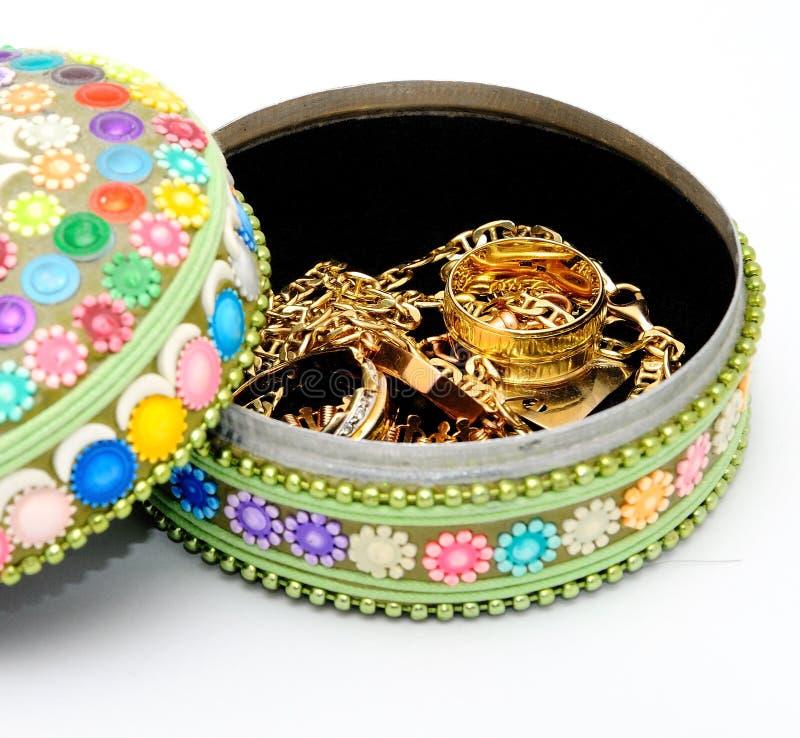 Cadres de bijou photographie stock