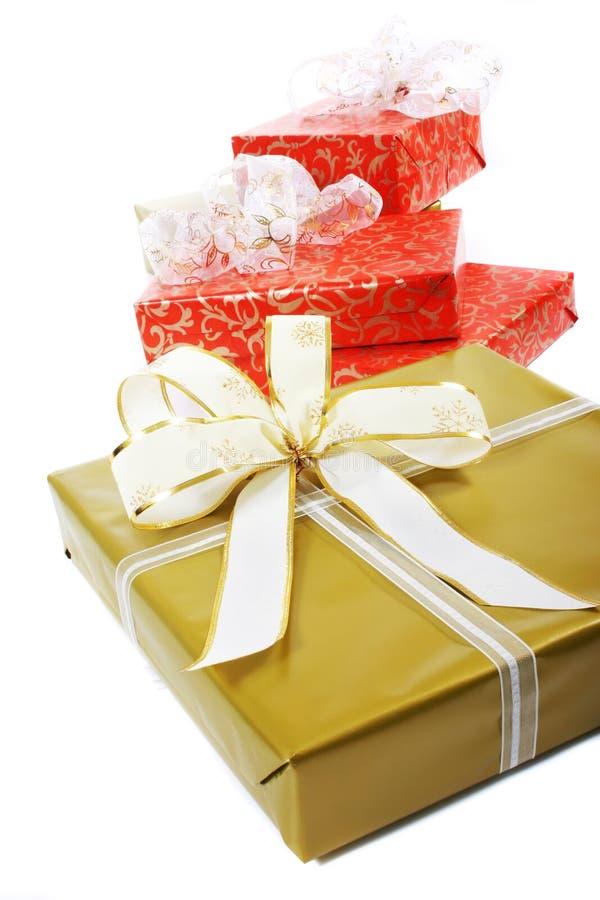 Cadres de cadeaux images stock