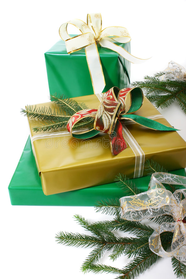 Cadres de cadeaux photo libre de droits