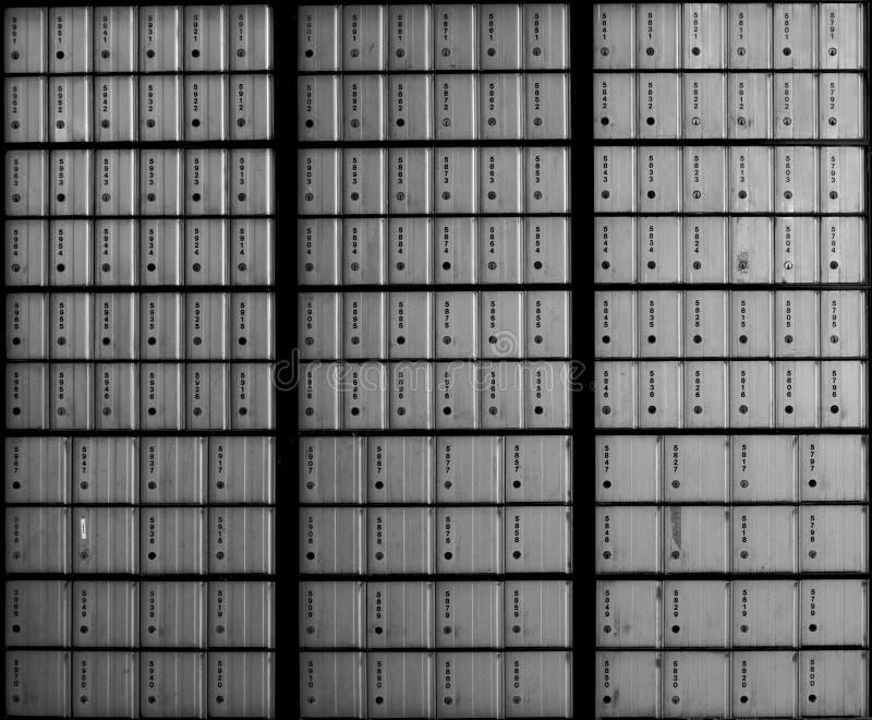 Cadres de courrier photo libre de droits
