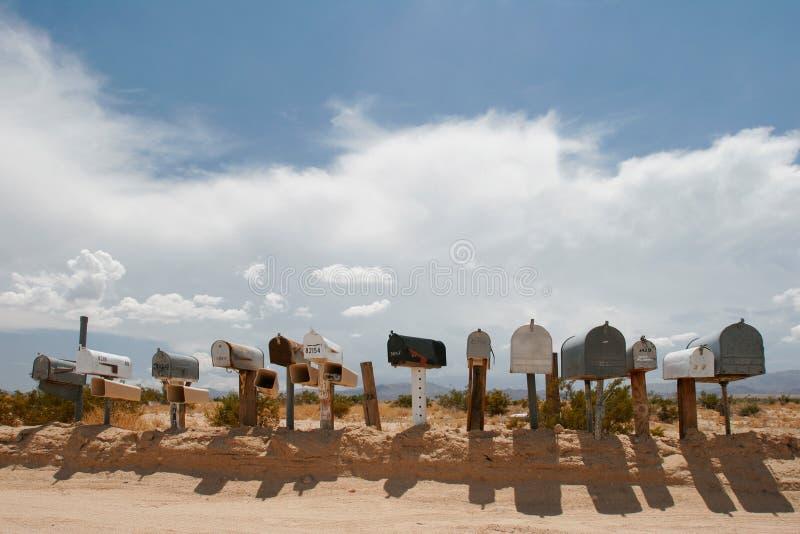 Cadres de courrier. photo libre de droits
