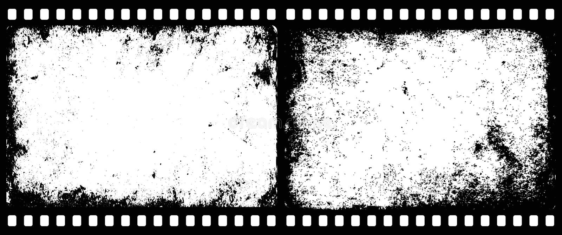 Cadres de film illustration stock