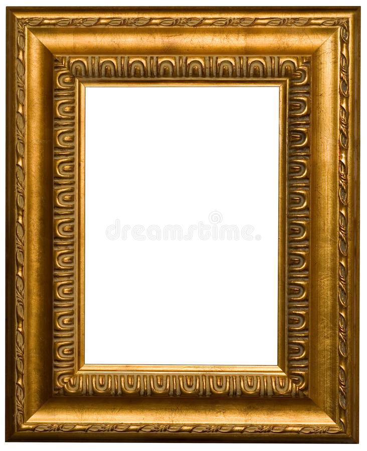Cadres de tableau d'or image libre de droits