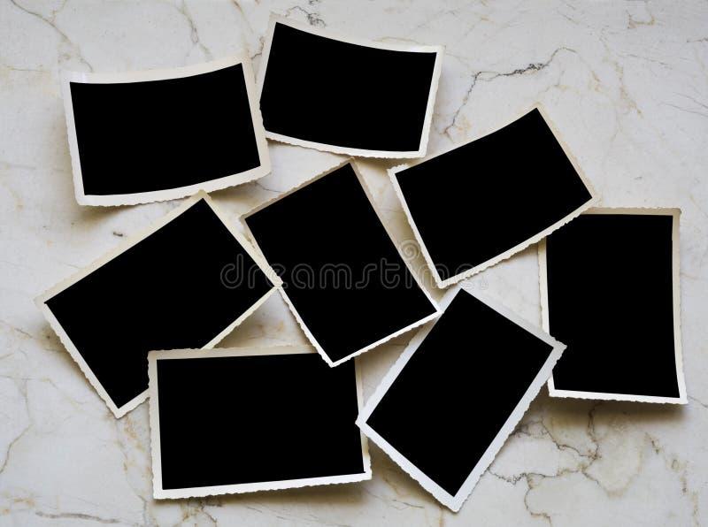 cadres de tableau photographiques photographie stock