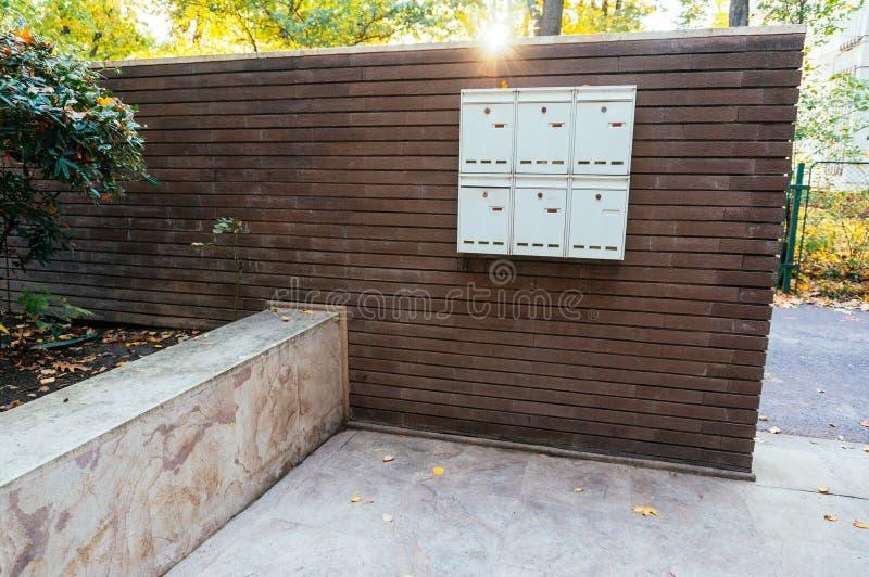 Cadres privés de courrier images libres de droits
