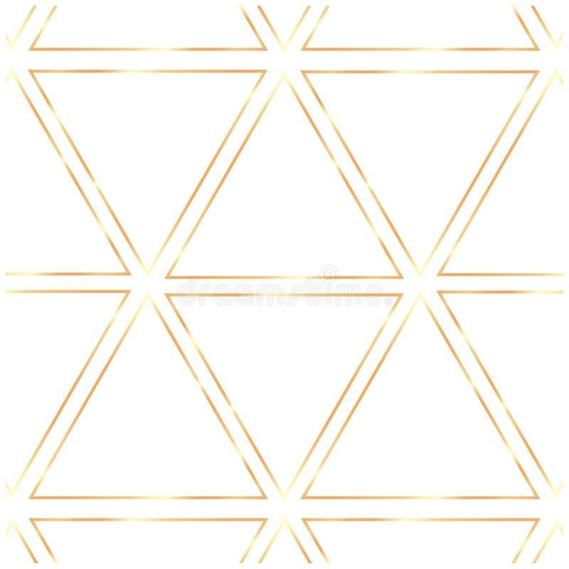 Cadres réalistes de cru d'or sur le fond transparent illustration de vecteur