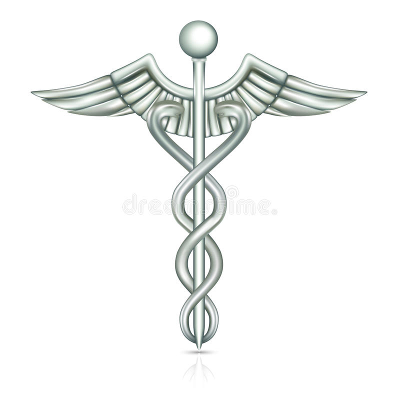 caduceus stock illustrationer