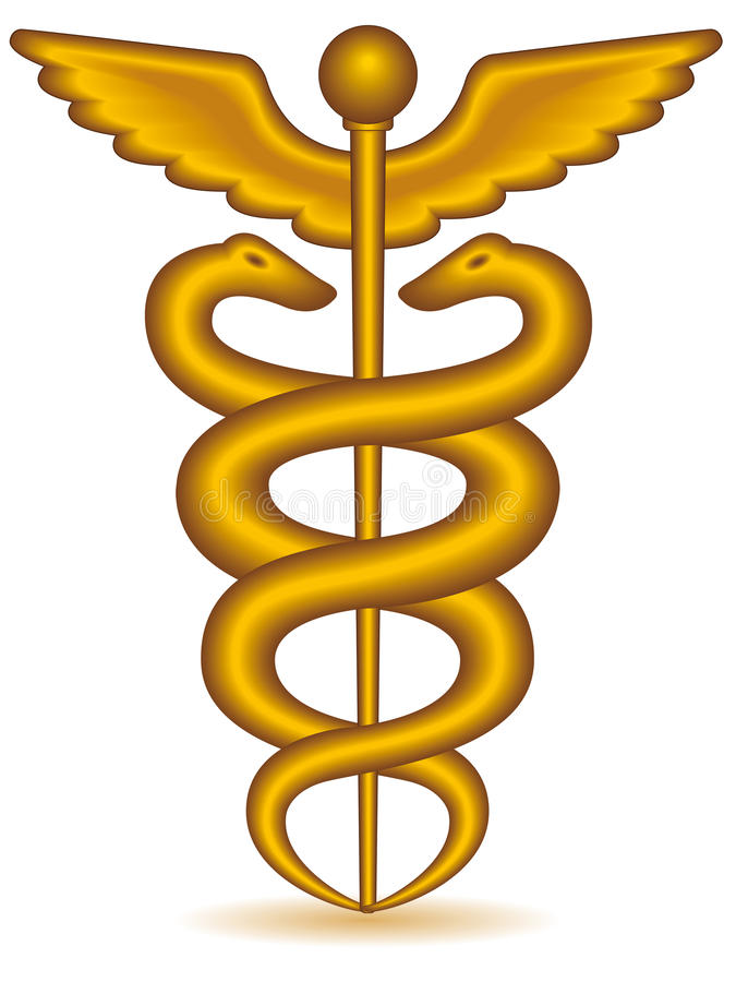 Caduceus stock illustration